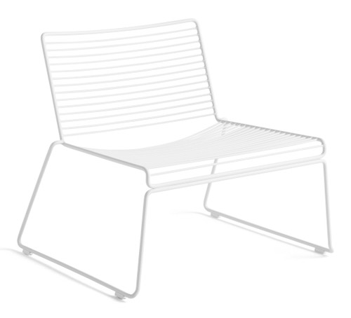 HAY Hee Outdoor Lounge Chair - White