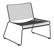 HAY Hee Outdoor Lounge Chair - Black