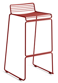 HAY Hee Outdoor Bar Stool High - Rust