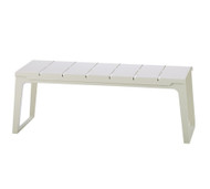 Cane-Line Copenhagen Outdoor Bench - White