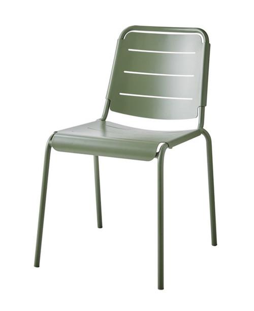 Cane-Line Copenhagen Outdoor City Chair - Olive Green