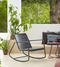 Cane-Line Copenhagen Outdoor Chair - Lava Grey - Lifestyle 1