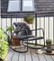 Cane-Line Copenhagen Outdoor Chair - Lava Grey - Lifestyle 2
