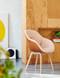 HAY About A Chair AAC 123 Soft Duo - Front Mode 026 - Back Silk Cognac - Matt Lacquered Oak