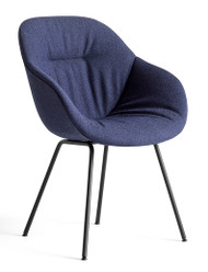 HAY About A Chair AAC 127 Soft - Olavi By HAY 07 - Powder-Coated Black