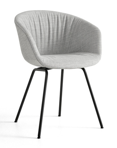 HAY About A Chair AAC 27 Soft - Remix 123 - Black Base