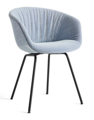HAY About A Chair AAC 27 Soft - Steelcut Trio 716 - Black Base