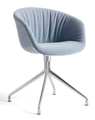HAY About A Chair AAC 21 Soft - Steelcut Trio 716 - Polished