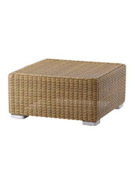 Cane-Line Chester Footstool/Coffee Table