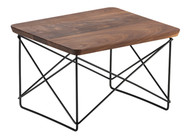CLEARANCE Vitra Eames Occasional Table LTR In Mahogany