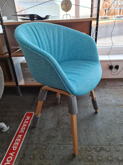 CLEARANCE HAY About A Chair AAC 23 Soft - Hallingdal 840 - Front Angle View