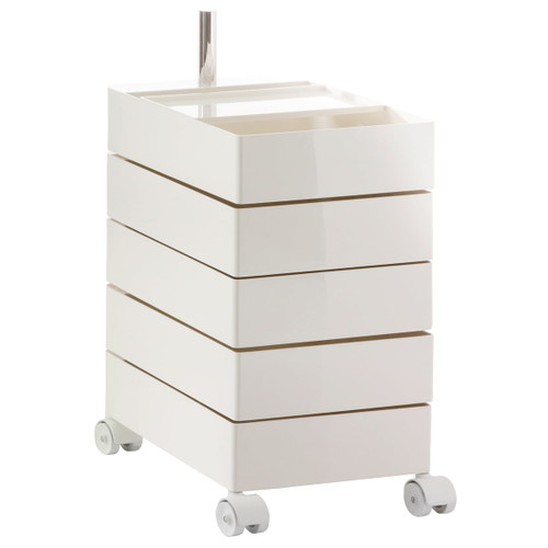 Magis 360º 5 Drawer Container - WHITE