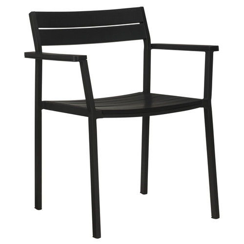 Case EOS Armchair - BLACK