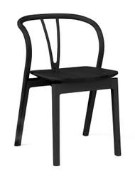 L.Ercolani Flow Chair - Black Ash