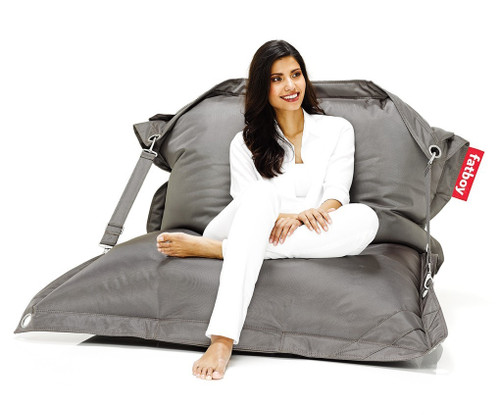 Fatboy Buggle-Up Beanbag - Light Grey - 2