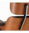 Vitra Eames Lounge Chair - American Cherry Closeup