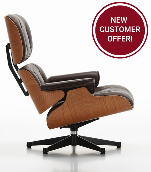 Vitra Eames Lounge Chair - American Cherry