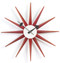 Vitra Sunburst Clock by George Nelson - Red