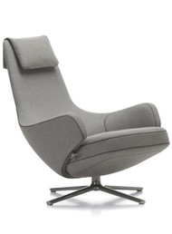 Vitra Repos Lounge Chair & Ottoman by Antonio Citterio