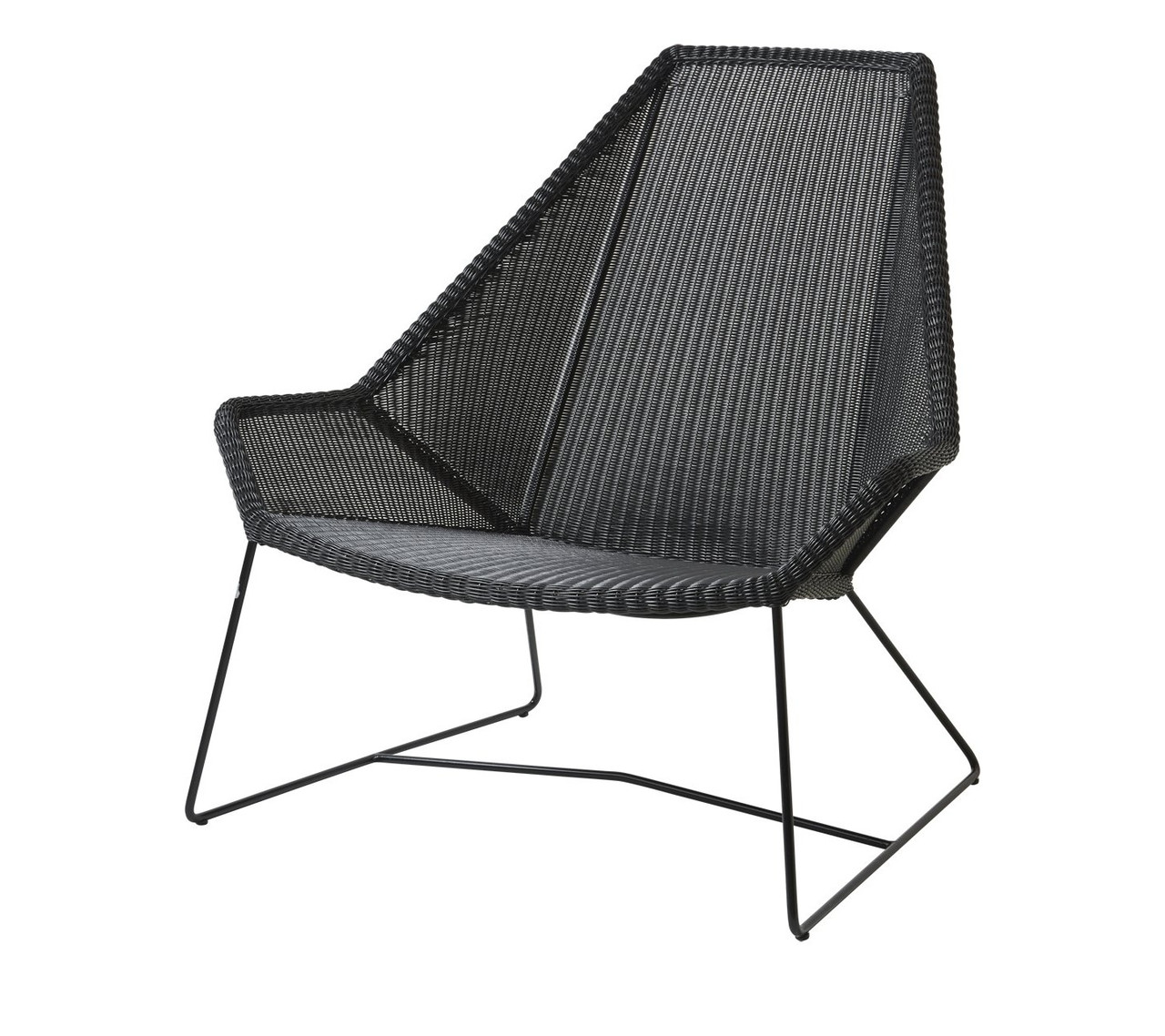 Picture of: Cane Line Breeze High Back Outdoor Lounge Chair