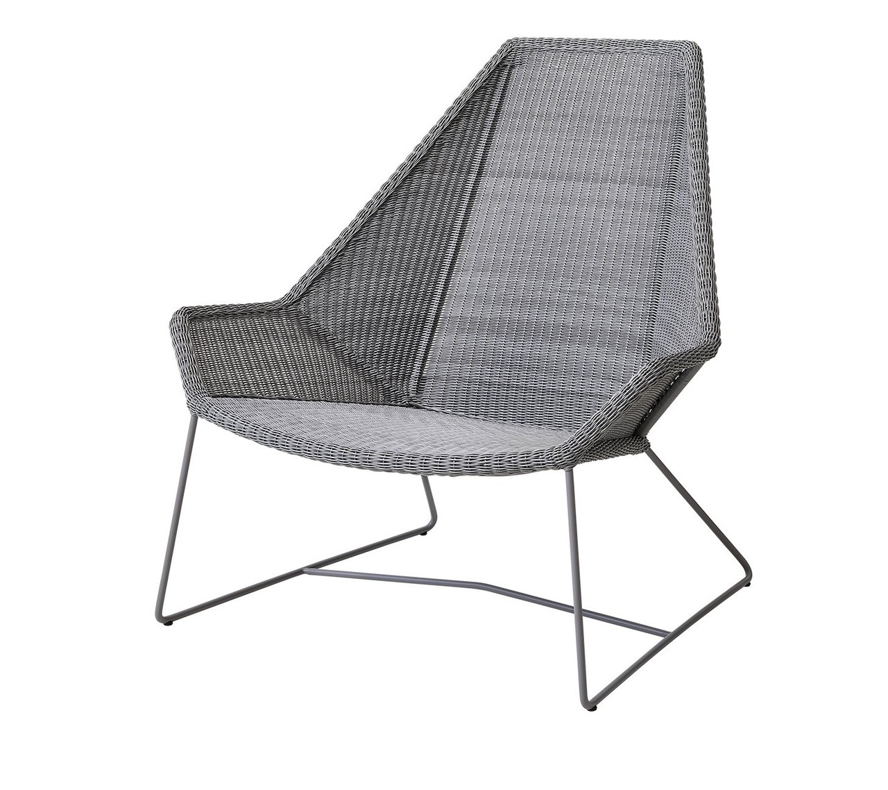 Cane Line Breeze High Back Outdoor Lounge Chair