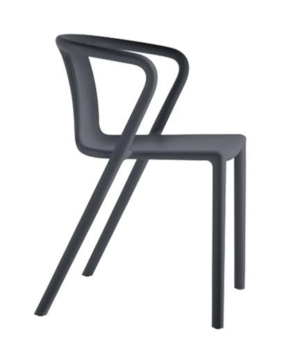 Magis Air-Armchair by Jasper Morrison - Black 1751 C