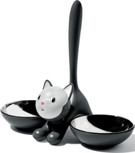 Alessi Cat Bowl Black