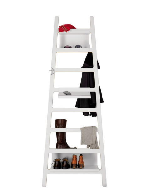 Muller Mobelwerkstatten Step Ladder storage shelves