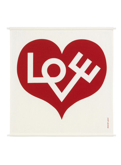 Vitra Environmental Enrichment Panels by Alexander Girard - Love Heart