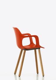 Vitra Hal Armchair Wood by Japser Morrison