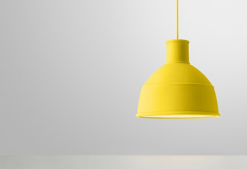 Muuto Unfold Pendant Yellow