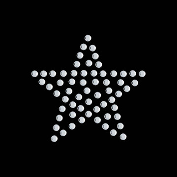HP40- Star - Rhinestone