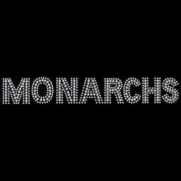 HP95- Monarchs - Rhinestones/Studs