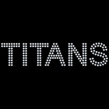 HP107- Titans - Rhinestone