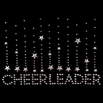 HP141 - Cheerleader w/Falling Stars