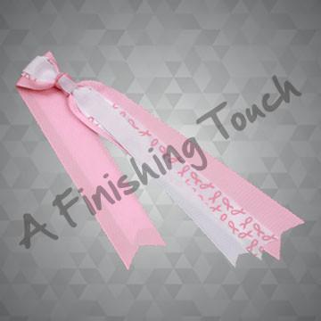 BC225- Pink Ribbon Bow