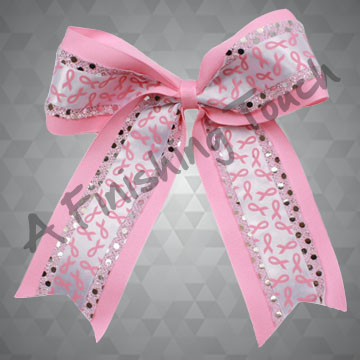 BC281- Pink Ribbon Bow
