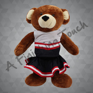 FT116- Cheerleader Doll/Bear Uniform