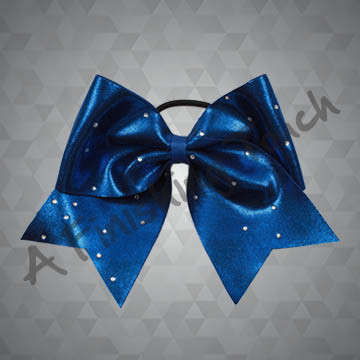 835- Scattered Classic Rhinestone Cheer Bow