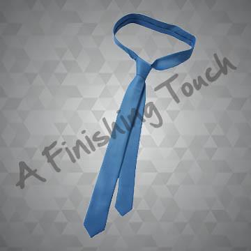 617- Solid Skinny Tie