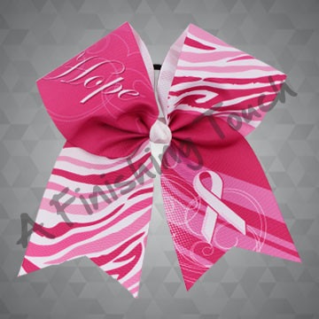 BC924- Hope Pink Ribbon Bow