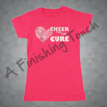 A175I- Cheer for the Cure T-Shirt