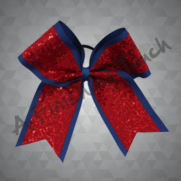 994 - Two-Layer Cheer Bow with Dazzle Sequins