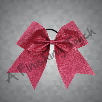 998 - One-Layer Cheer Bow with Glitter