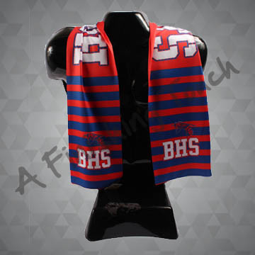 SU-SC100- Custom Sublimated Sport Scarf