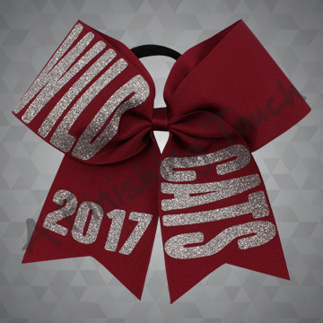 1230A- Mascot & Year Bow