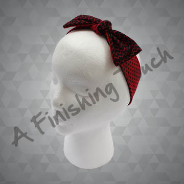 SU-H104- Custom Bowtie Headband