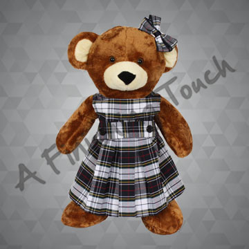 FT277- Tunic Bear Jumper and Bow