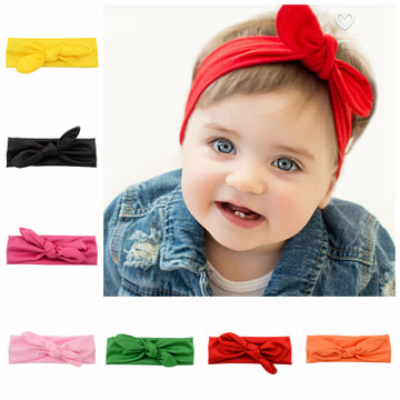 1589- Toddler Knot Tie Headband