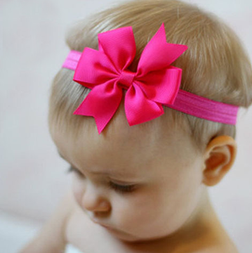 "1567- 3"" Pinwheel on Headband"